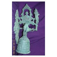 Victorian Cast Bronze Baroque Entrance Bell