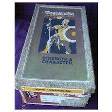 ZEALANDIA Brand Art Deco Shoe Box 1930's