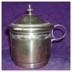 Victorian Brass on Tin Coffee Strainer