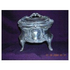 Victorian Art Nouveau Trinket Box