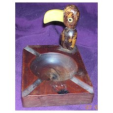 Art Deco Dodo Bird Ashtray Circa 1930's