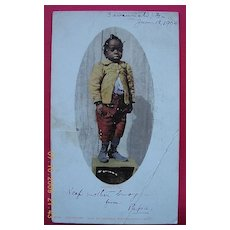 "1904 Negro Postcard ""Mammy's Pet"""