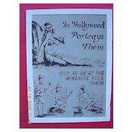 WW2 Vintage Small GI Comedy Card Pacific Island Native Girls