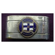Adelaide Steamship Co 'M.V. MANUNDA' Souvenir Napkin Ring