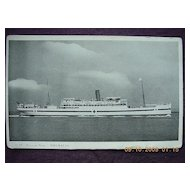 British India Line 'Neuralia' Vintage Souvenir Postcard
