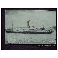 Shaw Savill & Albion Liner 'R.M.S. Tainui Vintage Postcard