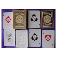 Vintage Shipping Playing Cards' NZ & Federal Steamship Co'