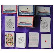 Vintage Shipping Playing Cards 'Union Castle Line'
