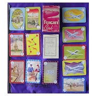Vintage Pepys Series Children's Playing Cards 'FLIGHT'