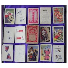 Vintage Pepys Children's Playing Cards Game 'FAMO'
