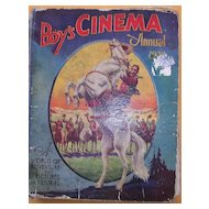 Vintage  'Boys Cinema Annual 1932'