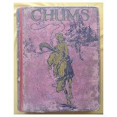 Vintage 1916 Edition Of 'CHUMS' Boys Annual