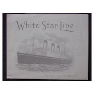 S.S. MAJESTIC - White Star Line - Pictorial Letterhead