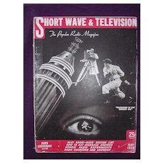Short Wave & Television Magazine May 1938