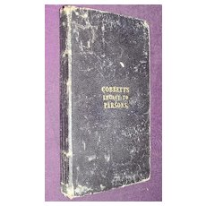 Cobbett's Legacy To Parsons 1835