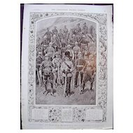 Coronation Of King George V & Queen Mary - Plate X Guardians Of Empire