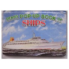 DEAN'S Pop-Up Book Of Ships