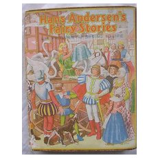 BOOKANO Pop-Up Book 'Hans Andersen's Fairy Stories' Circa 1938