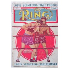 Rare Vintage 'The RING' Magazine Vol.XV11 September 1938