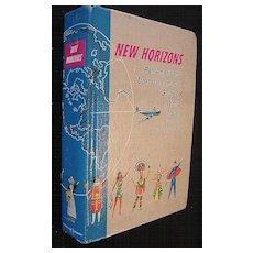 Vintage 1956 Pan American 'New Horizons' World Travel Guide