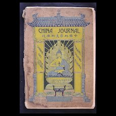 The CHINA Journal November 1928 Vol. 1X