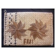Fijian Flax Purse or Kete