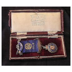 Royal Antediluvian Order of Buffaloes PRIMO Jewel 1928