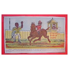 1880'S TRADE CARD 'Kendall's Spavin Cure'