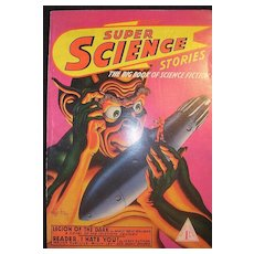 Rare SUPER Science Stories SCI FI Magazine No. 8 1943