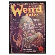 SCI-FI Magazine -  Weird Tales March 1950