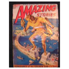 SCI-FI Magazine - Amazing Stories - Vol.24 No 12 December 1950