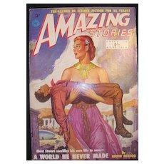 SCI-FI Magazine - Amazing Stories - Vol. 17 1951