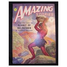 SCI-FI Magazine - Amazing Stories - Vol. 14 1951