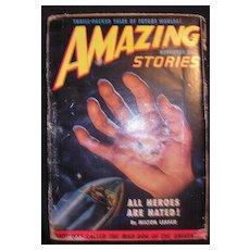 SCI-FI Magazine - Amazing Stories - Vol.24 No 11 November 1950
