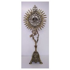 Magnificent French Bronze MONSTRANCE