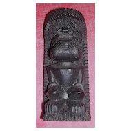 Hawaiian Coco Joe Lava Rock  God Figurine