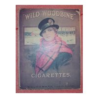 WILLS Woodbine Cigarettes Mounted Poster
