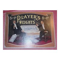 """PLAYERS """"Weights"""" Mounted Display Poster"""