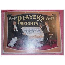 "PLAYERS ""Weights"" Mounted Display Poster"