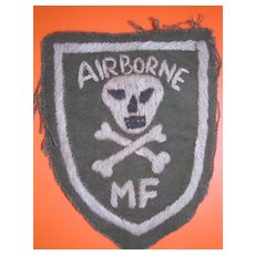 VIETNAM  Blackjack 21 - Mike Force - Shoulder Patch