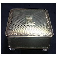 Peninsular & Oriental Steamship Co Trinket Box Circa 1940