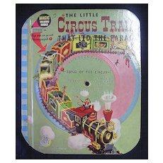 The Magic Talking Book 'The Little Circus Train'