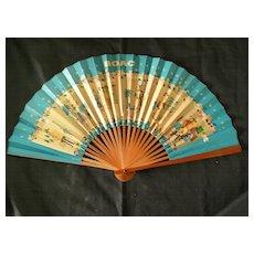 BOAC Advertising Paper Fan