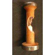 EGG TIMER Fashioned From A Lancashire Weaving Loom Bobbin