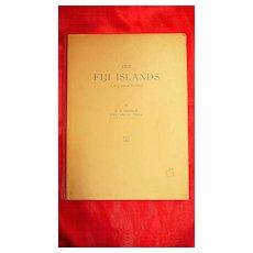 FIJI Islands Geographical Handbook Ist Edition 1951