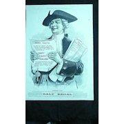 SALT REGAL - Original Full Page Advert Illustrated London News 1890