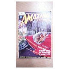 Sci-Fi Magazine - Amazing Stories - No 15 1951