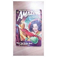 Sci-Fi Magazine - Amazing Stories - Vol.24 No. 24 April 1950