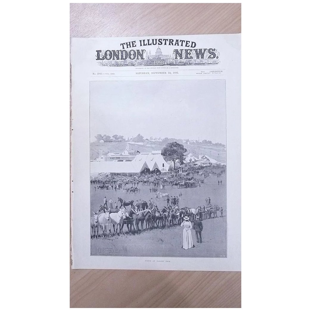Front Page Illustrated London News 1895