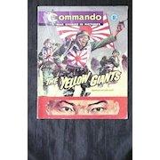 Six  1960's Small Format  English War Comics